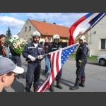 příprava vlajek