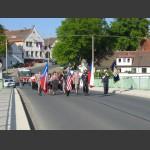 na mostě přes Úslavu